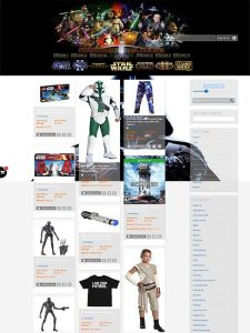 Build My Business   Auckland Northland Web Design Services   Star Wars Store Online