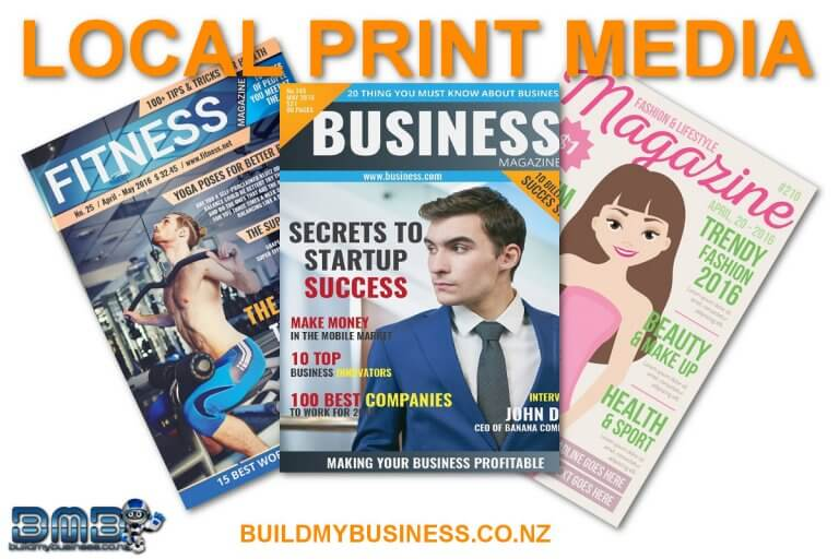 Local Print Media Marketing Strategy