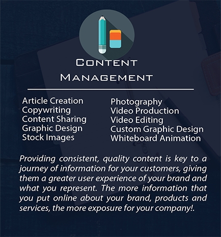 Build My Business | Content Management